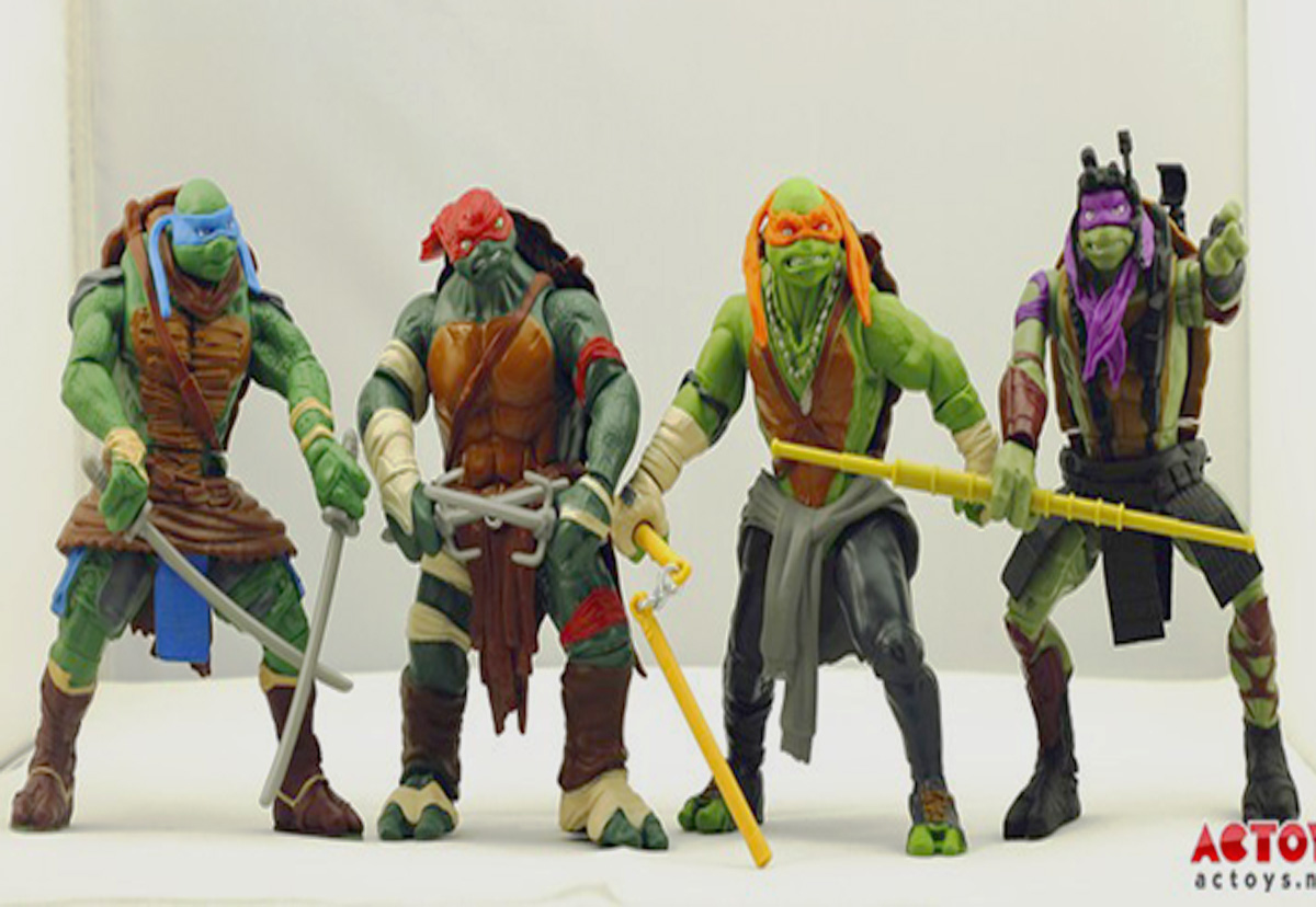 Teenage Mutant Ninja Toys : Falls society roundtable toys action figures nostalgia