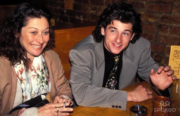 This is actually Patrick Dempsey with his first wife.